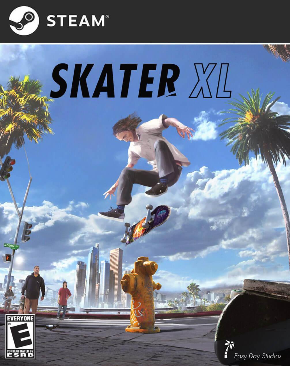 تحميل لعبة التزلج Skater XL للكمبيوتر
