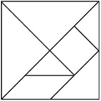 Modelo de tangram