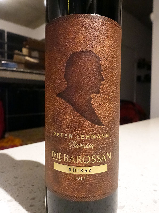 Peter Lehmann The Barossan Shiraz 2017 (89 pts)