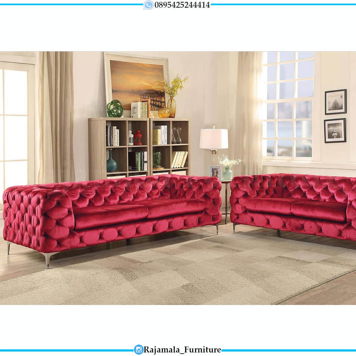 Desain Sofa Tamu Minimalis Jepara Elegant Simple Set RM-0613