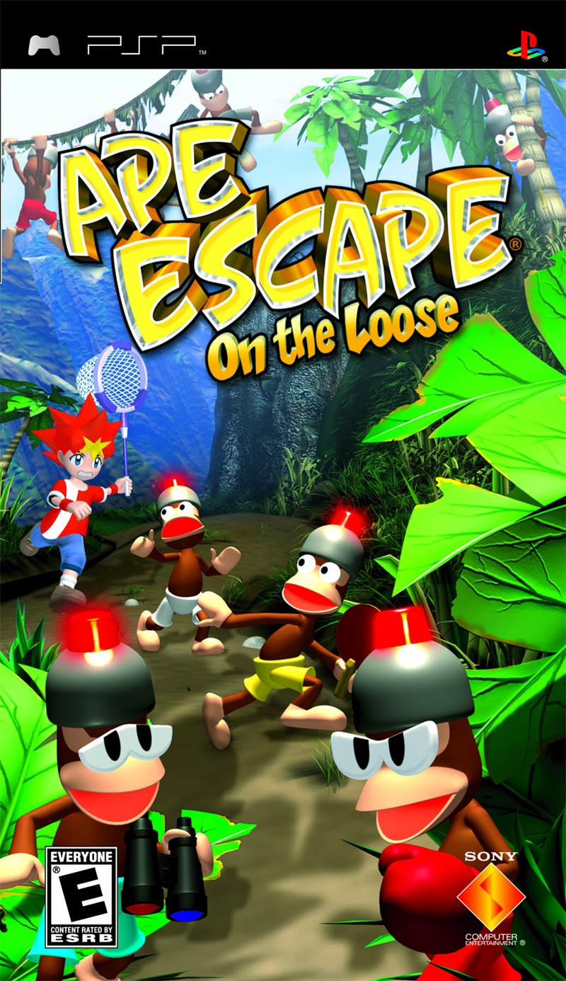 Ape Escape - on The Loose - PSP - ISO Download
