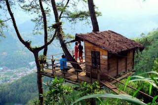 Paralayang dan Rumah Pohon Kota Batu