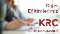 Kurumlara Özel Eğitimler / KRC Eğitim Danışmanlığı / Kurumsal Eğitimler