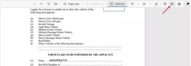 Cara Menambahkan Teks ke File PDF Menggunakan Microsoft Edge-5