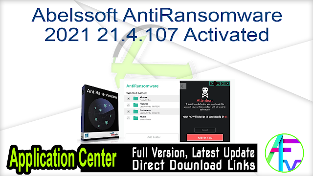 Abelssoft AntiRansomware 2021 21.4.107 Activated