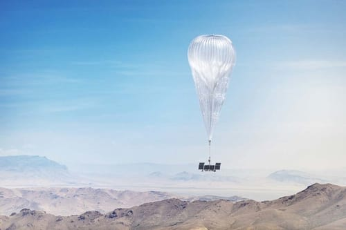 Loon balloons are based on artificial intelligence from Google