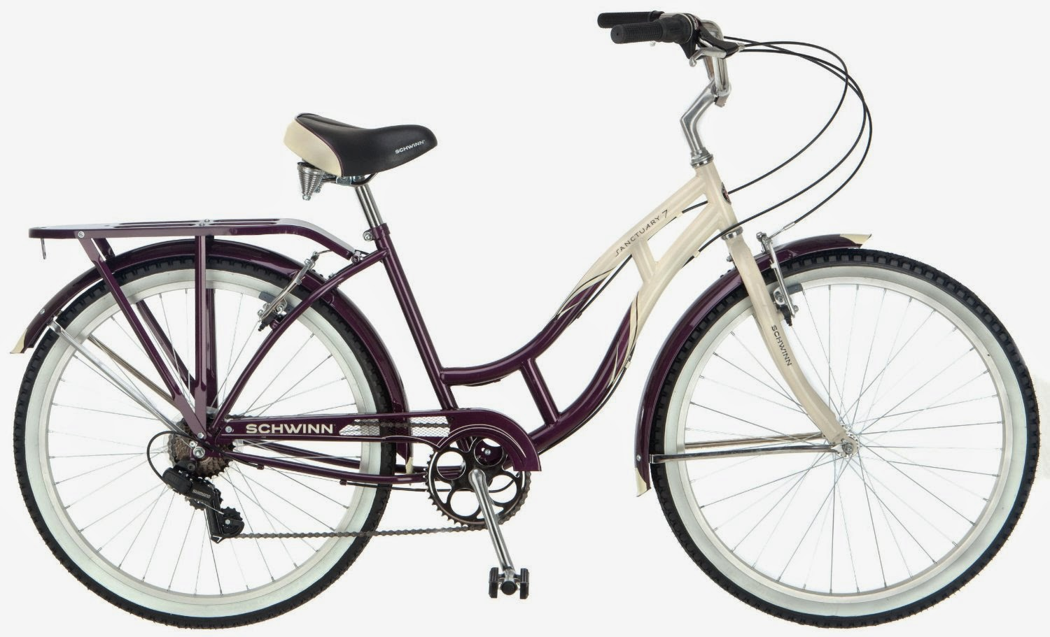 Schwinn Women's Sanctuary 7-Speed Cruiser Bicycle, Review, comfortable cruiser bike
