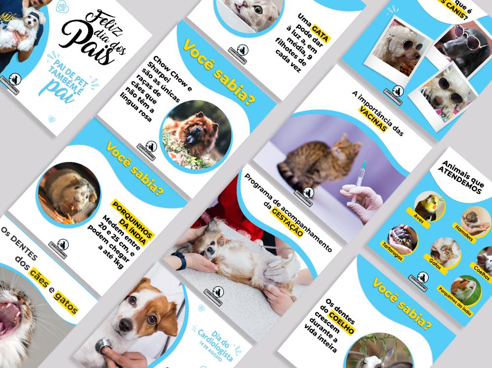 Artes redes sociais veterinária