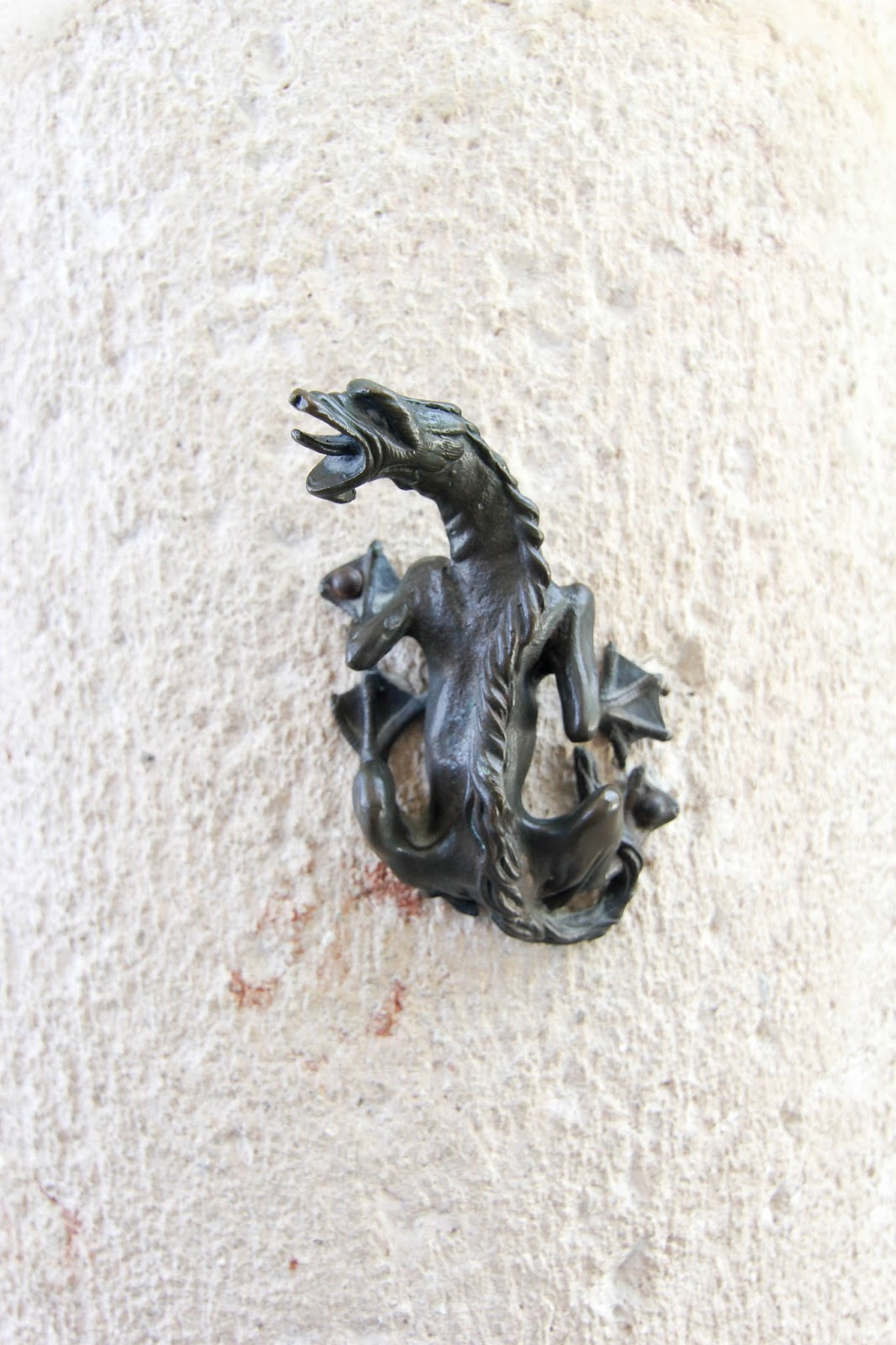 dragon at Vizcaya in Miami, Florida