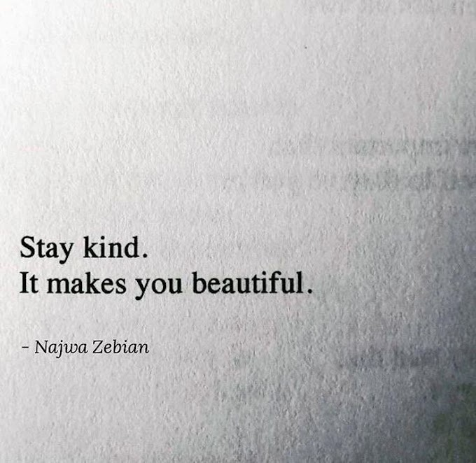 Stay Kind !