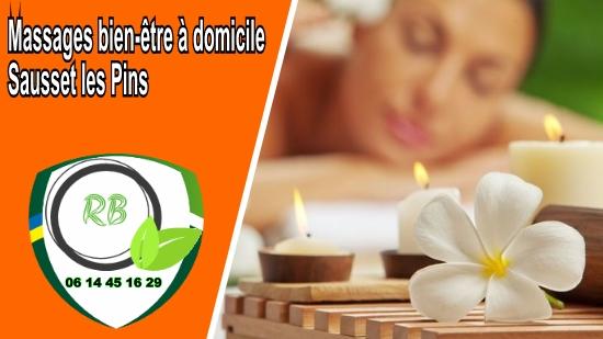 Massages bien-être à domicile Sausset les Pins;