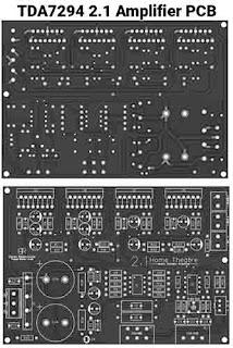 TDA7294 Amplifier PCB Layout