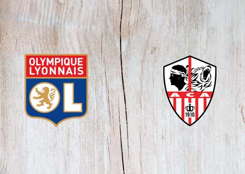 Olympique Lyonnais vs Ajaccio -Highlights 09 February 2021
