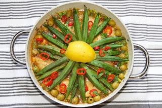 Healthy Food Okra