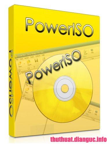 Download PowerISO 7.3 Full Key+ Portable