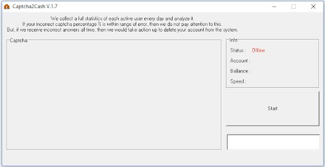 Captcha2cash software