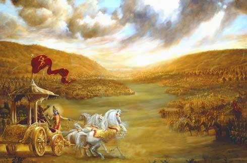 Hari Pertama Perang Baratayudha Tewasnya Pangeran Uttara