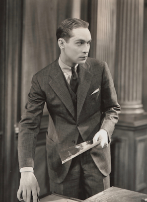 Franchot Tone in The Wiser Sex, 1932.