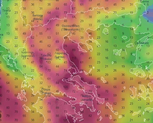 23 - Αλλαγή καιρού στη χώρα τις επόμενες 5 ημέρες