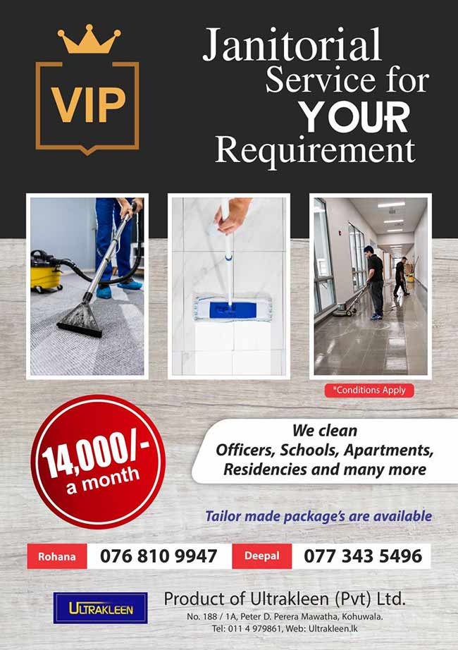 Ultrakleen - Janitorial Service for your Requirement.