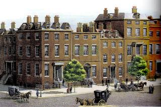 Quinta Avenida em 1840 aproximadamente
