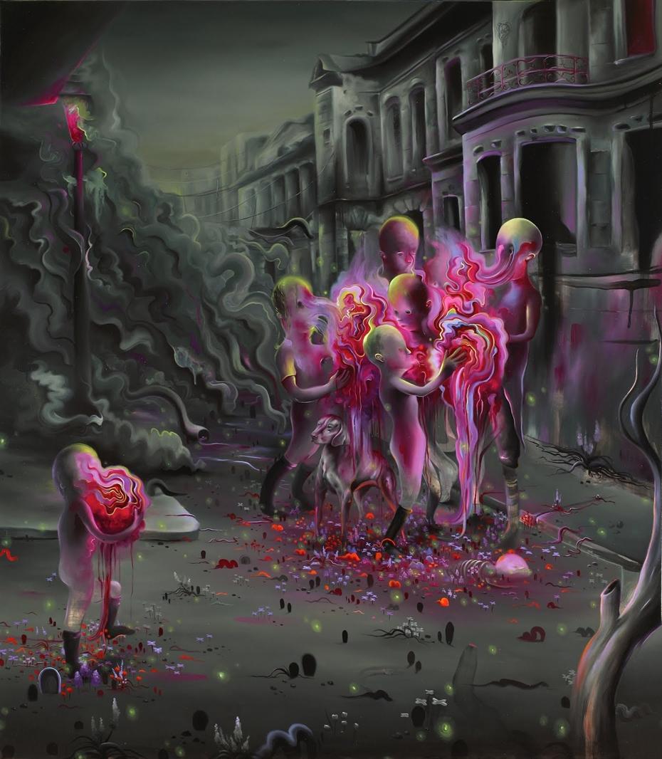 Michael Page 1979 Pop Surrealism Painter Tutt Art