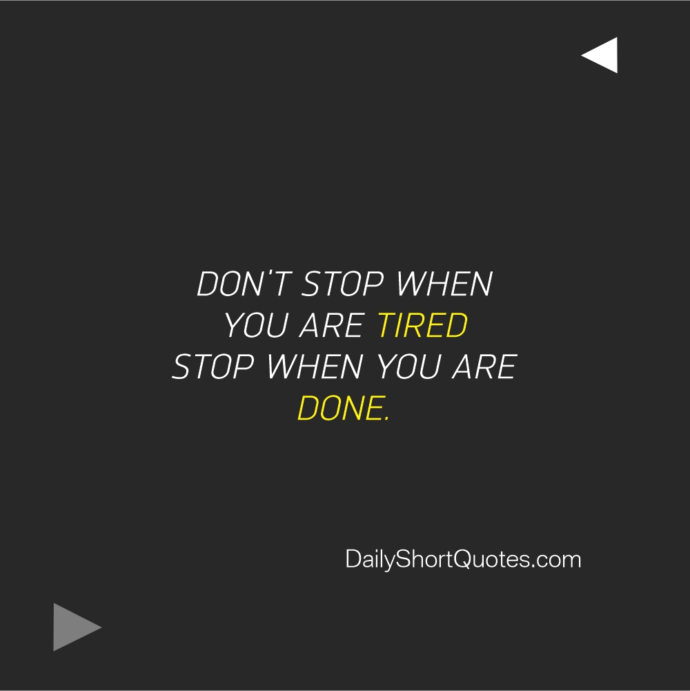 Attitude Quotes on tired and success