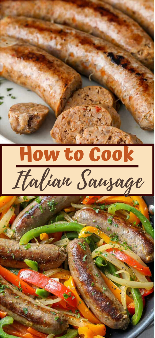 How to Cook Italian Sausage #dinnereasy #quickandeasy #dinnerrecipe #lunch #amazingappatizer