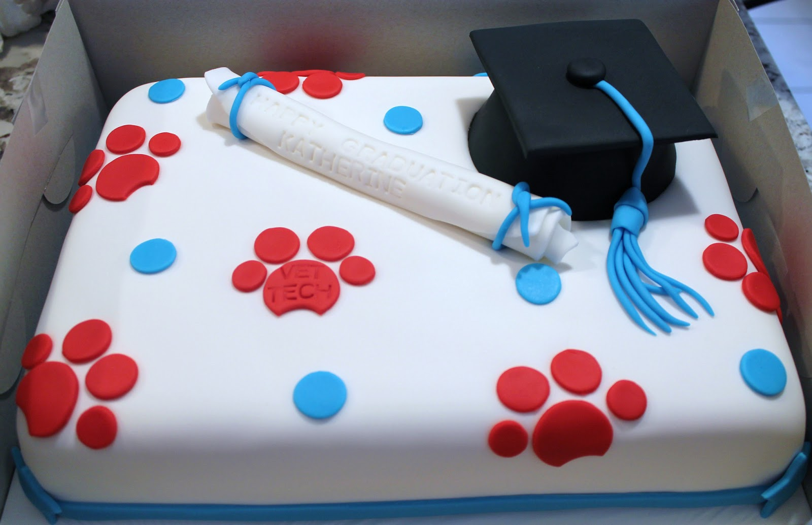 Creative Cakes By Lynn Vet Tech Graduation Cake