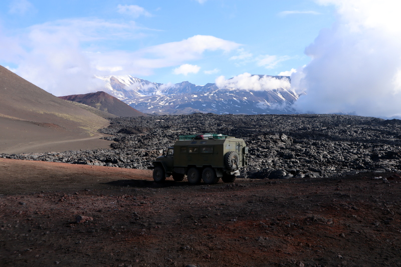 Камчатка вулкан толбачик и лава