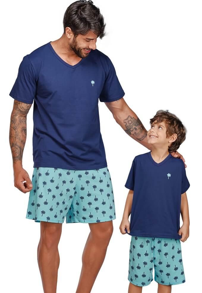 pijama-curto-adulto-infantil