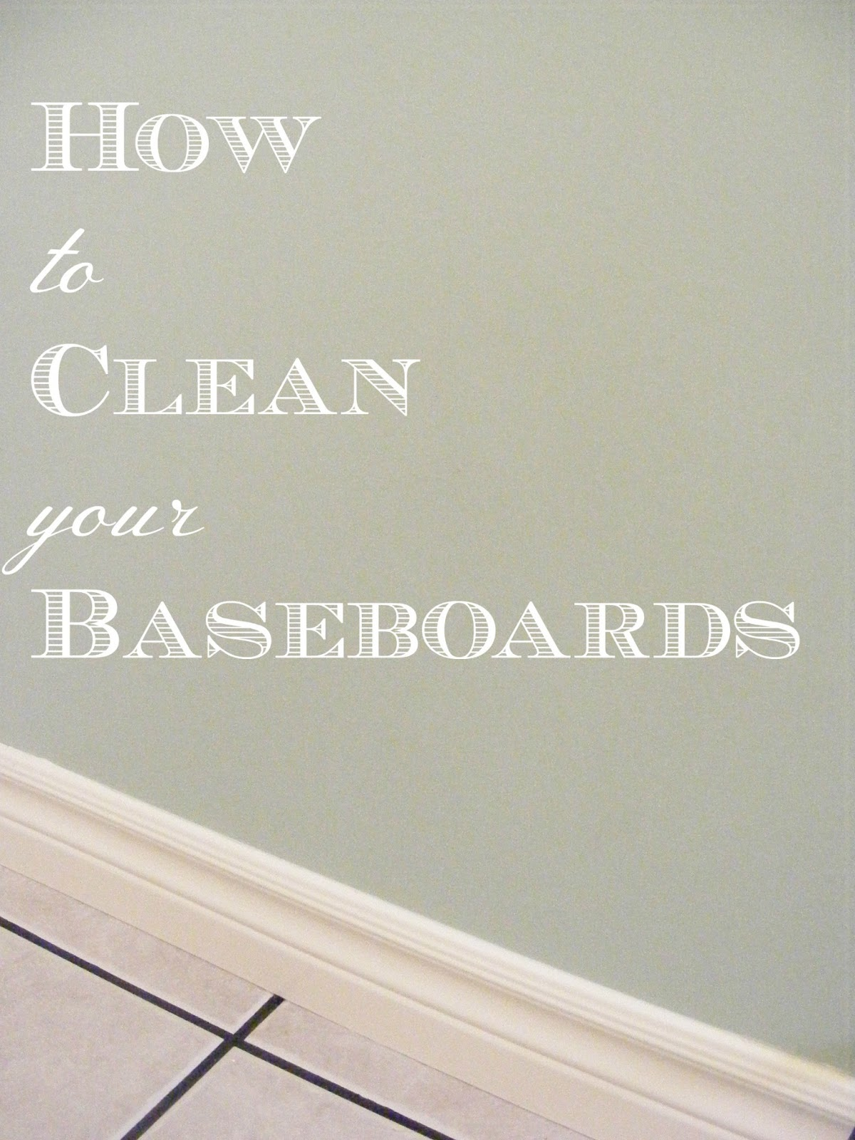 How to Clean your Baseboards | The Complete Guide to ...