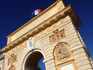 Free tour, arco del triunfo en Montpellier