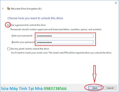 Đặt mật khẩu ổ cứng bằng BitLocker - H03