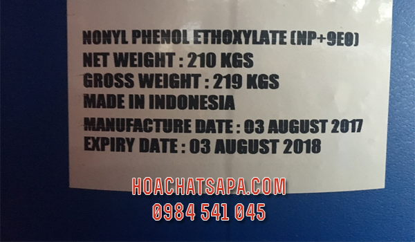 Nonyl Phenol Ethoxylate (NP+9EO) | Tergitol TM NP-9 Surfactant | NP9