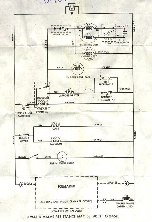 ge sideside refrigerator wiring diagram  1978 bronco