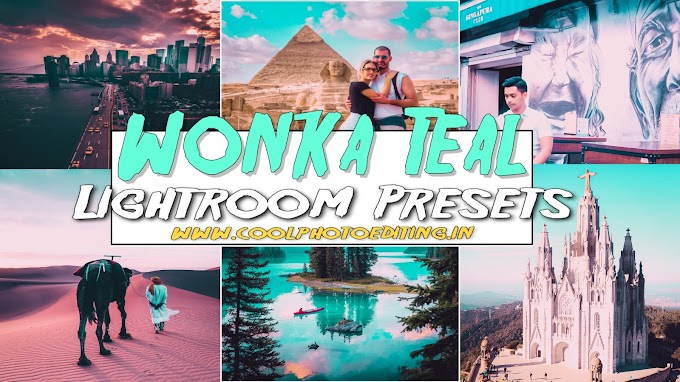 Wonka Teal Lightroom Mobile Presets Free Download