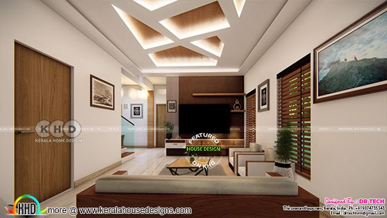 TV room interior décor
