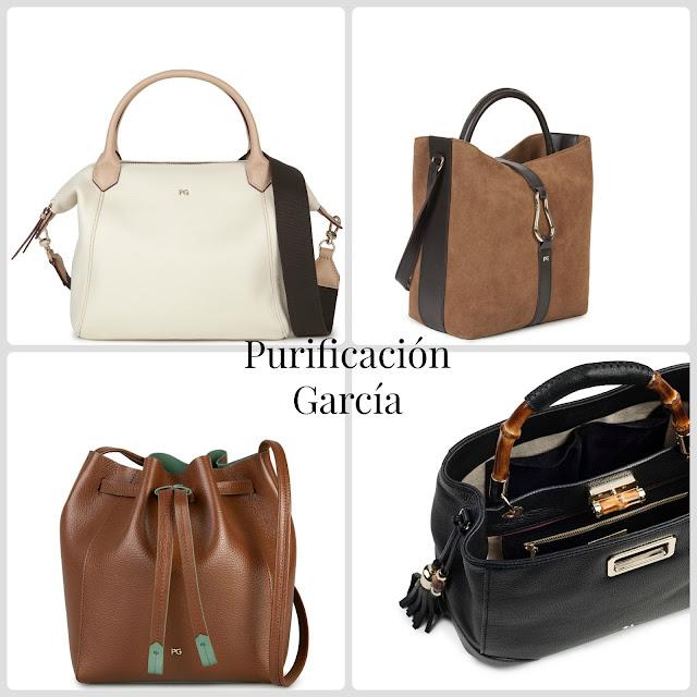 Purificación García bolsos