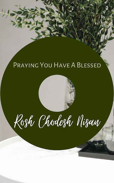 Happy Rosh Chodesh Nisan Greeting Card | 10 Free Awesome Cards | Happy New Month | First Jewish Month