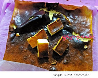 Basque Burnt Cheesecake | Sekali adun, terus menjadi mengikut citarasa sendiri...