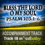 Scripture Songs for Worship : Psalm 103:1-6