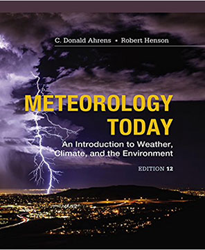 Meteorology Today by Ahrens and Henson is an ideal textbook for independent study