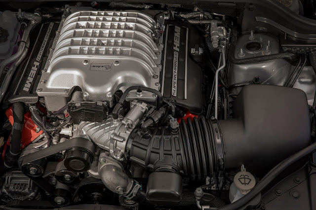 Engine in 2019 Jeep Grand Cherokee Trackhawk