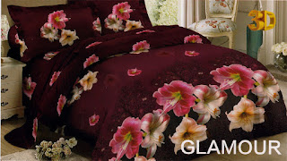 Sprei Red Rose Glamour