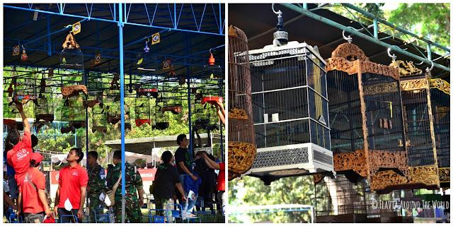 Concurso de pájaros en Pranbanan