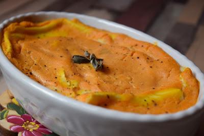 Lasagnette zucca e formaggino senza lattosio