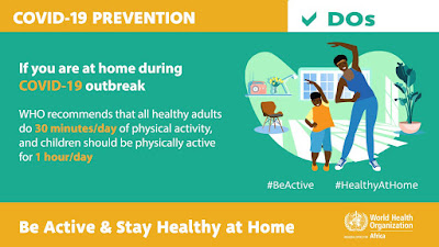 be active and stay healthy