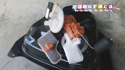 saringan bensin motor mio