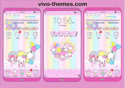 Sanrio Puroland Tickets Theme For Vivo Android Smartphones